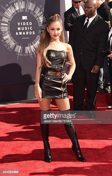 Actress/singer Ariana Grande attends the 2014 MTV Video Music Awards at The Forum on August 24 2014 in Inglewood California