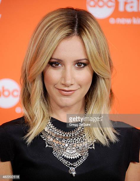 Actress/singer Ashley Tisdale arrives at the 2014 Television Critics Association Summer Press Tour Disney/ABC Television Group at The Beverly Hilton...
