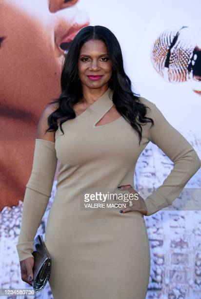 """Actress/Singer Audra McDonald attends the Los Angeles premiere of """"Respect"""" in Westwood, California, August 8, 2021."""