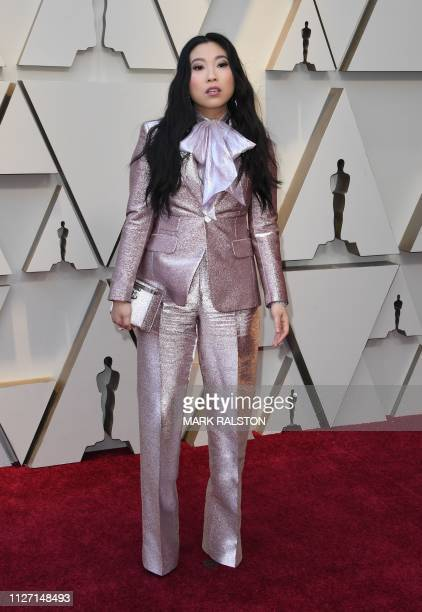 Actress/singer Awkwafina arrives for the 91st Annual Academy Awards at the Dolby Theatre in Hollywood California on February 24 2019