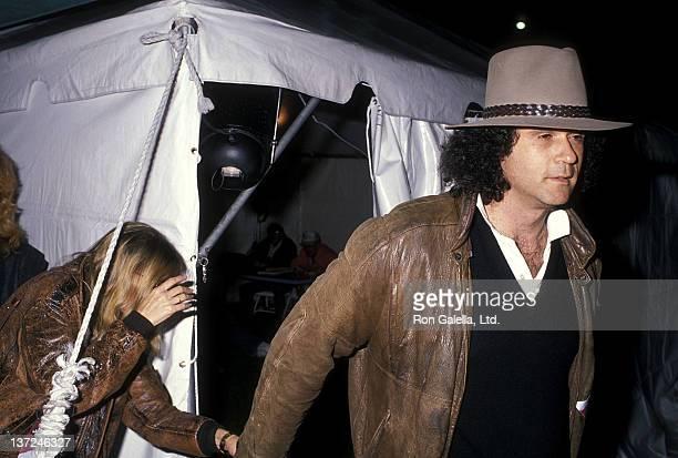 "Actress/Singer Barbra Streisand and composer Richard Baskin attend the Amnesty International's ""Human Rights Now!"" Benefit Concert on September 21,..."