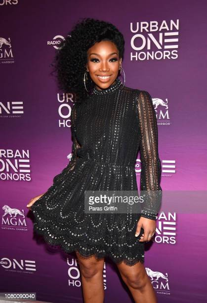Actress/singer Brandy Norwood attends 2018 Urban One Honors at La Vie on December 9 2018 in Washington DC