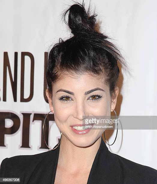 Actress/singer Briana Cuoco attends the Stand Up For Pits Comedy Benefit at The Improv on November 8 2015 in Hollywood California