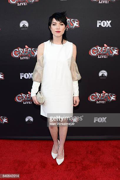 """Actress/singer Carly Rae Jepsen attends the For Your Consideration event for FOX's """"Grease: Live"""" at Paramount Studios on June 15, 2016 in Los..."""
