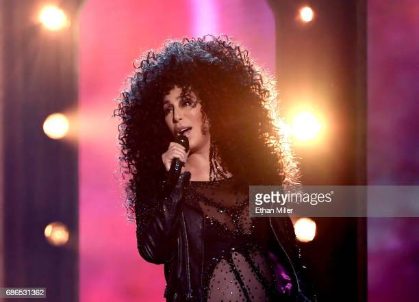 Actress/singer Cher performs onstage during the 2017 Billboard Music Awards at T-Mobile Arena on May 21, 2017 in Las Vegas, Nevada.