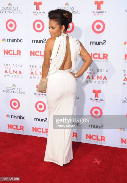Actress/singer Christina Milian arrives at the 2013 NCLA ALMA Awards at Pasadena Civic Auditorium on September 27 2013 in Pasadena California