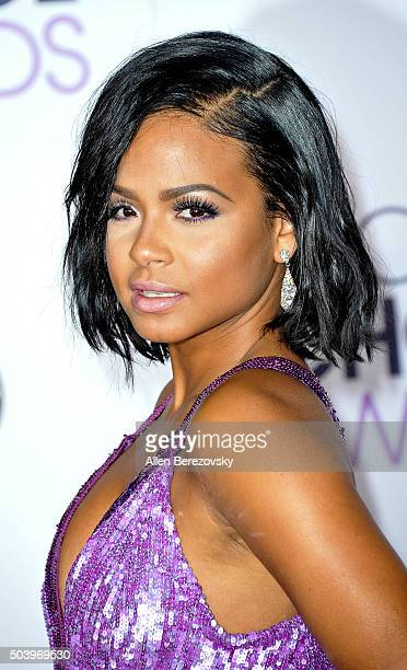 Actress/singer Christina Milian arrives at the People's Choice Awards 2016 at Microsoft Theater on January 6, 2016 in Los Angeles, California.