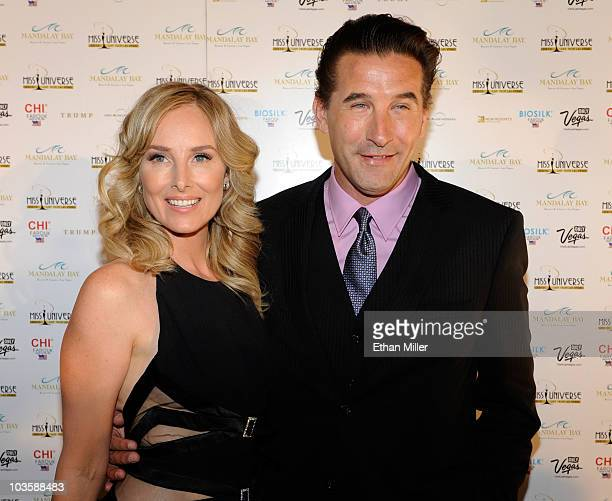 Actress/singer Chynna Phillips and her husband actor WIlliam Baldwin arrive at the 2010 Miss Universe Pageant at the Mandalay Bay Events Center...