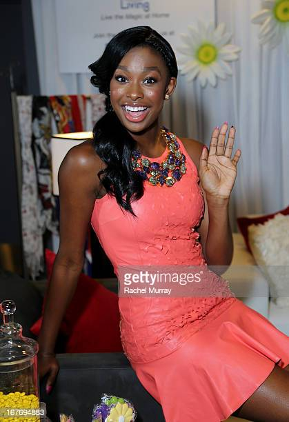 Actress/Singer Coco Jones attends the Minnie Gifting Lounge during the 2013 Radio Disney Awards at Nokia Theatre LA Live on April 27 2013 in Los...