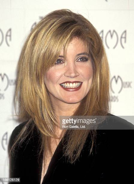 Actress/Singer Crystal Bernard attends the 23rd Annual American Music Awards on January 29, 1996 at Shrine Auditorium in Los Angeles, California.