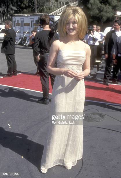 Actress/Singer Crystal Bernard attends the 31st Annual Academy of Country Music Awards on April 24, 1996 at Universal Amphitheatre in Universal City,...