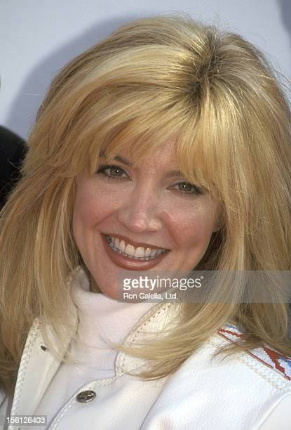 Actress/Singer Crystal Bernard attends the 32nd Annual Academy of Country Music Awards Nominations Announcements on March 3 1997 at Universal Studios...