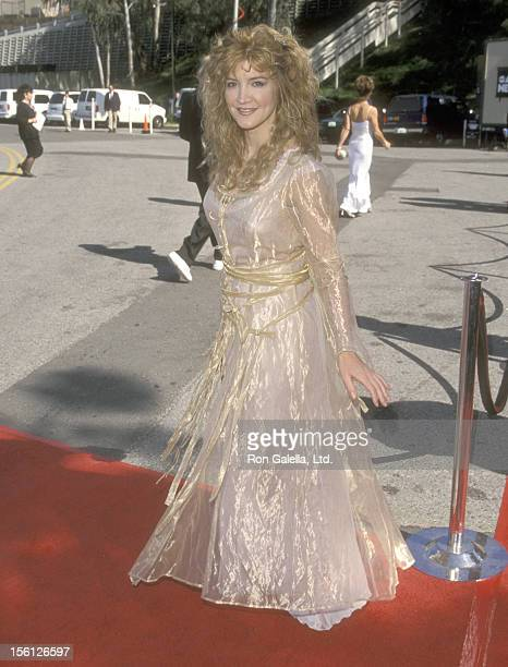 Actress/Singer Crystal Bernard attends the 34th Annual Academy of Country Music Awards on May 5 1999 at Universal Amphitheatre in Universal City...