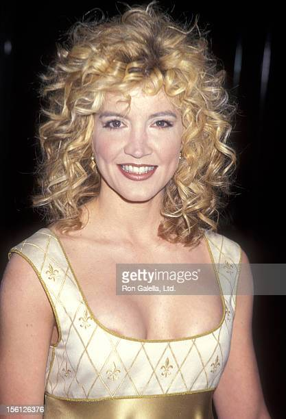 Actress/Singer Crystal Bernard attends the 35th Anniversary of the St Jude Children's Research Hospital on March 7 1997 at Beverly Hilton Hotel in...