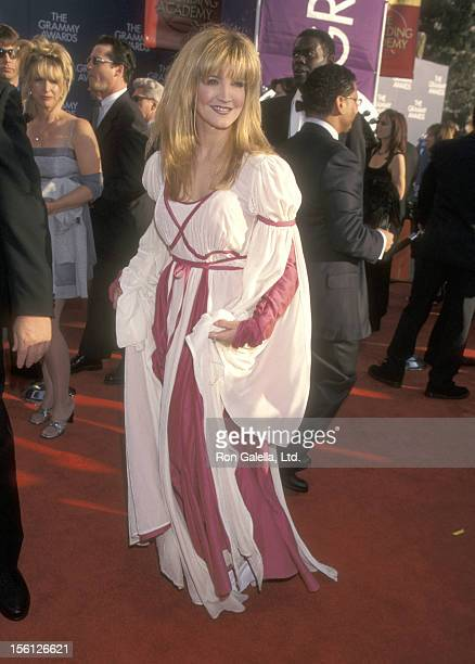 Actress/Singer Crystal Bernard attends the 41st Annual Grammy Awards on February 24, 1999 at Shrine Auditorium in Los Angeles, California.