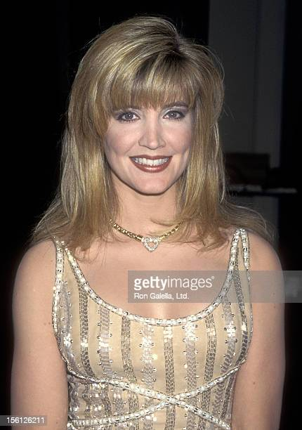 Actress/Singer Crystal Bernard attends the Fourth Annual Jim Thorpe Pro Sports Awards on July 8 1995 at Wiltern Theatre in Los Angeles California