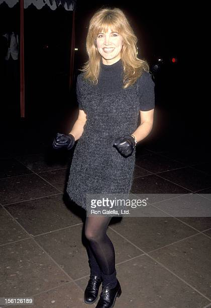 Actress/Singer Crystal Bernard attends the NBC Winter TCA Press Tour on January 9 1995 at RitzCarlton Hotel in Pasadena California
