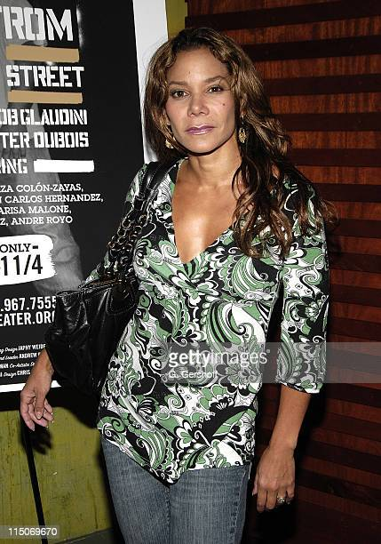 Actress/Singer Daphne RubinVega Arrives to the AfterParty at Club BLVD as Labyrinth Theater Company Opens its New Season with the World Premiere of A...