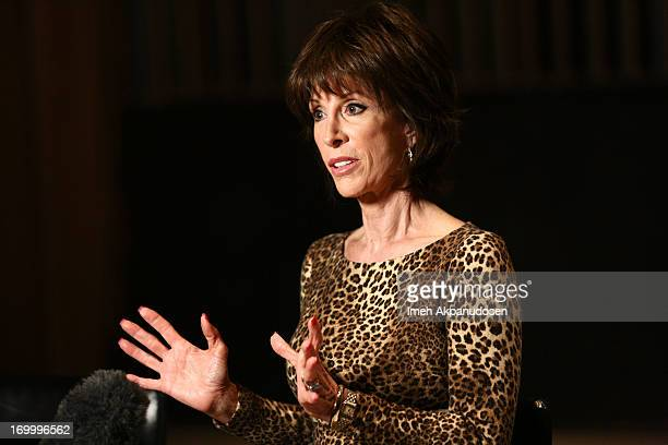 Actress/singer Deana Martin attends the Siriusly Sinatra Father's Day Show at Capitol Records Studio on June 5, 2013 in Hollywood, California.