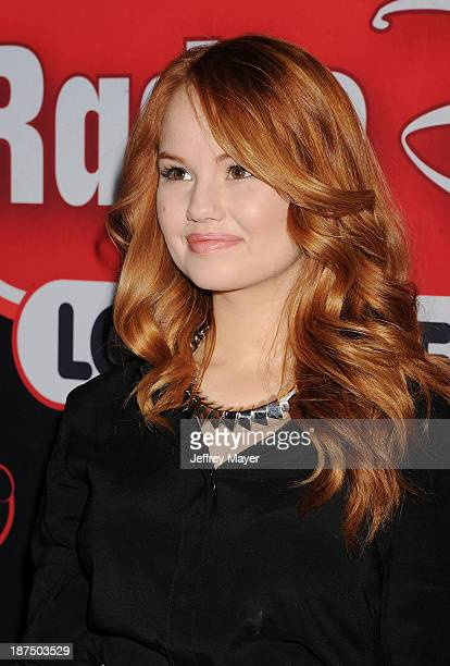 Actress/singer Debby Ryan of Disney Channel's 'Jessie' makes a special appearance/meetandgreet at the Glendale Galleria on November 9 2013 in...