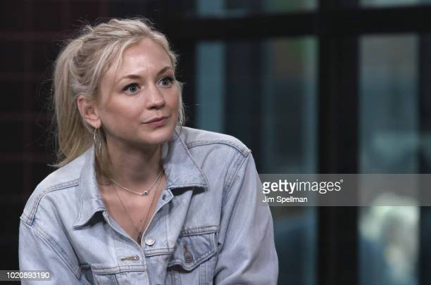Actress/singer Emily Kinney attends the Build Series to discuss Oh Jonathan at Build Studio on August 21 2018 in New York City