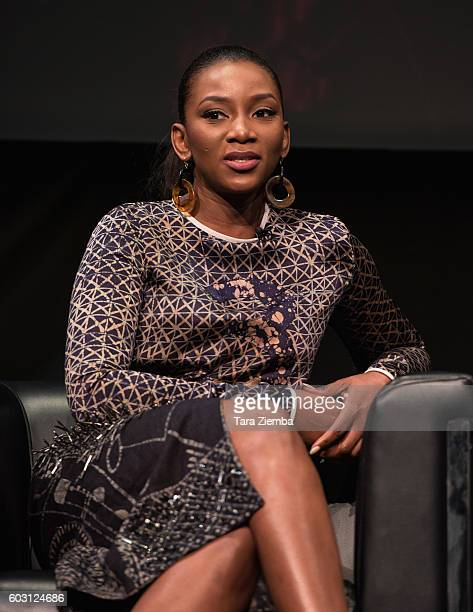 Actress/singer Genevieve Nnaji discusses Nigeria's film industry and the international rise of Nollywood at the 2016 Toronto International Film...