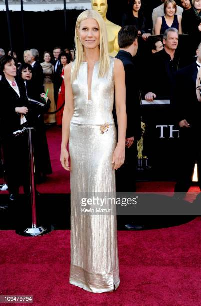 Actress/singer Gwyneth Paltrow arrives at the 83rd Annual Academy Awards held at the Kodak Theatre on February 27 2011 in Hollywood California