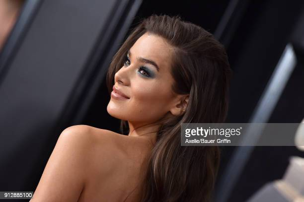 Actress/singer Hailee Steinfeld attends the 60th Annual GRAMMY Awards at Madison Square Garden on January 28, 2018 in New York City.
