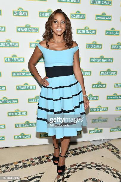 Actress/singer Holly Robinson Peete attends the 15th Annual Sesame Workshop Benefit Gala at Cipriani 42nd Street on May 31 2017 in New York City