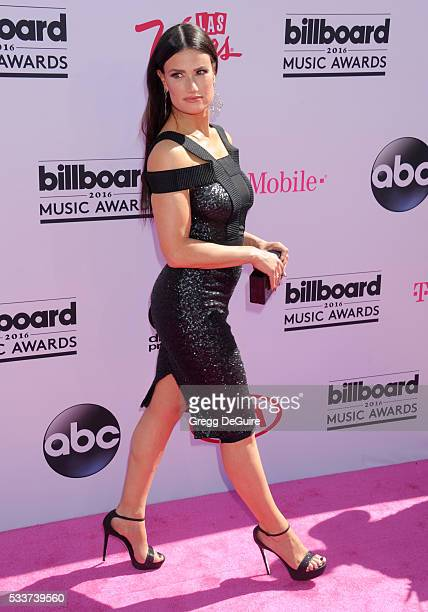 Actress/singer Idina Menzel arrives at the 2016 Billboard Music Awards at TMobile Arena on May 22 2016 in Las Vegas Nevada