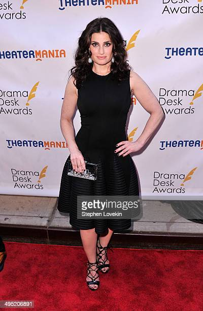 Actress/singer Idina Menzel attends the 2014 Drama Desk Awards at Town Hall on June 1 2014 in New York City