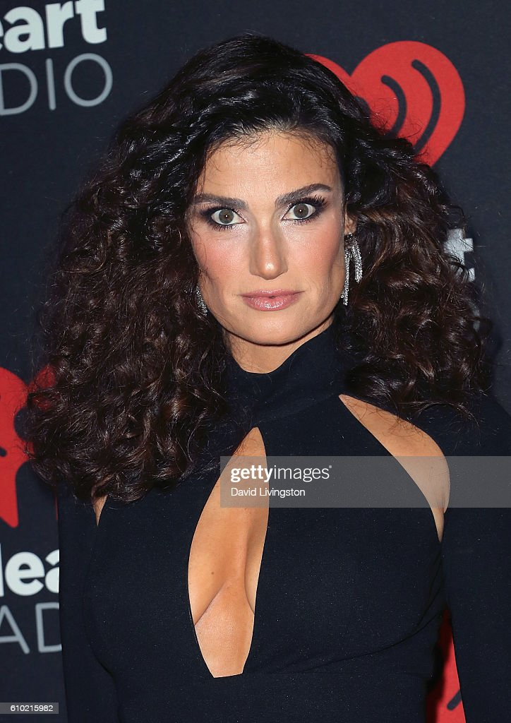 Actress/singer Idina Menzel attends the 2016 iHeartRadio Music Festival Night 2 at T-Mobile Arena on September 24, 2016 in Las Vegas, Nevada.