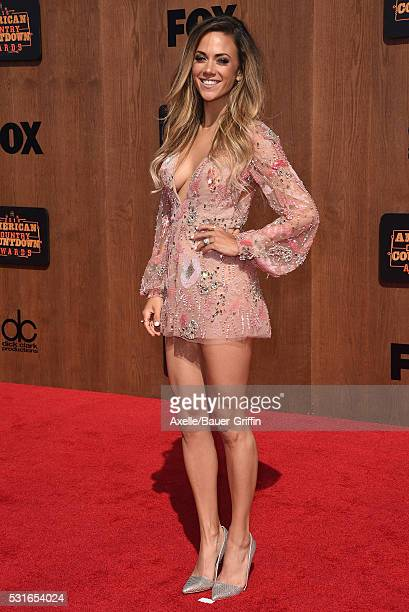 Actress/singer Jana Kramer arrives at the 2016 American Country Countdown Awards at The Forum on May 1 2016 in Inglewood California
