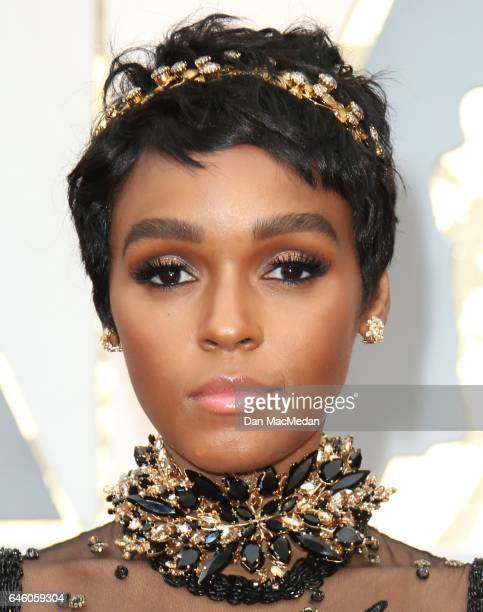 Actress/singer Janelle Monae arrives at the 89th Annual Academy Awards at Hollywood Highland Center on February 26 2017 in Hollywood California