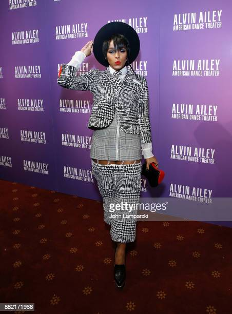 Actress/singer Janelle Monae attends Alvin Ailey's 2017 opening night Gala at New York City Center on November 29 2017 in New York City
