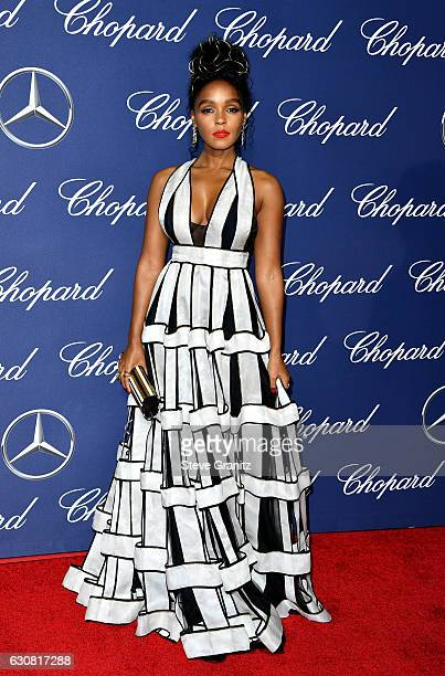 Actress/singer Janelle Monae attends the 28th Annual Palm Springs International Film Festival Film Awards Gala at the Palm Springs Convention Center...