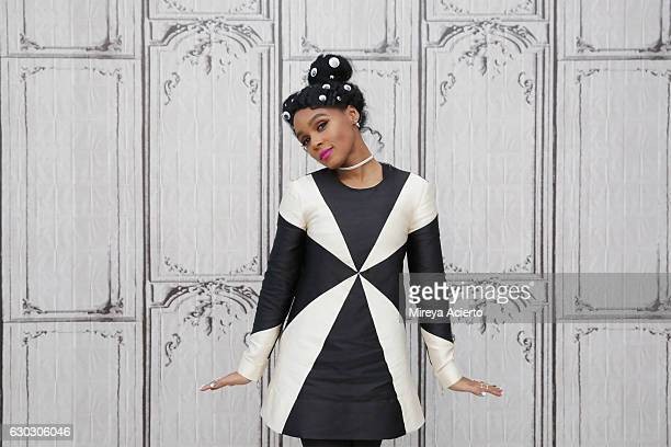 Actress/singer Janelle Monae visits Build Presents to discuss the film Hidden Figures at AOL HQ on December 20 2016 in New York City