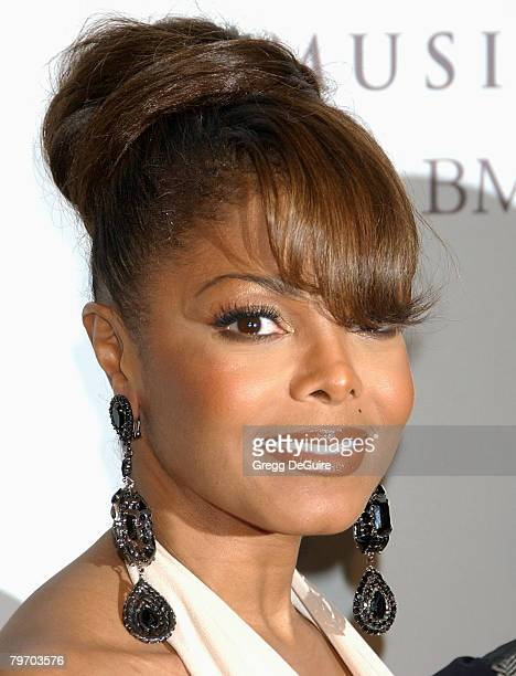 Actress/singer Janet jackson attends the 2008 Clive Davis PreGRAMMY party at the Beverly Hilton Hotel on February 9 2008 in Los Angeles California