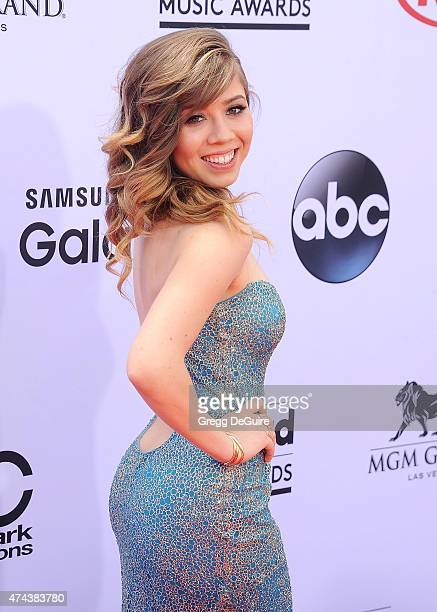 Actress/singer Jennette McCurdy arrives at the 2015 Billboard Music Awards at MGM Garden Arena on May 17 2015 in Las Vegas Nevada