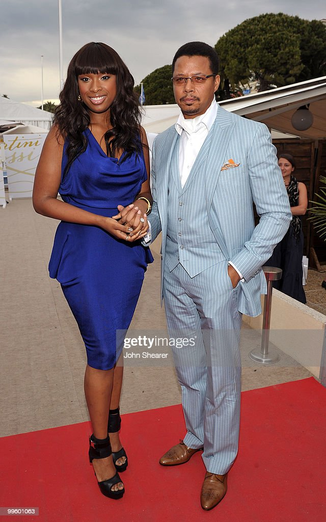 Actress/singer Jennifer Hudson and actor Terrence Howard attend the Winnie Cocktail Party held at the Martini Terraza during the 63rd Annual International Cannes Film Festival on May 16, 2010 in Cannes, France.
