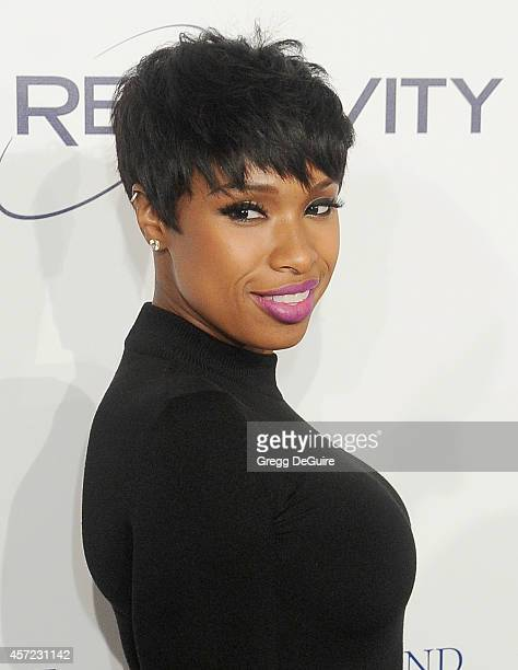 Actress/singer Jennifer Hudson arrives at the 20th Annual Fulfillment Fund Stars Benefit Gala at The Beverly Hilton Hotel on October 14 2014 in...