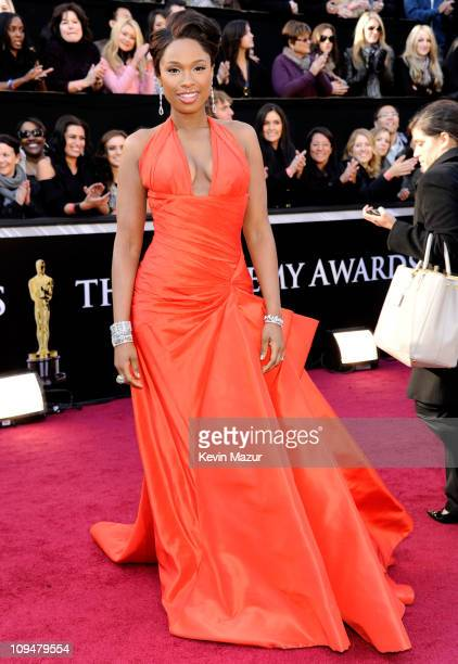 Actress/singer Jennifer Hudson arrives at the 83rd Annual Academy Awards held at the Kodak Theatre on February 27 2011 in Hollywood California