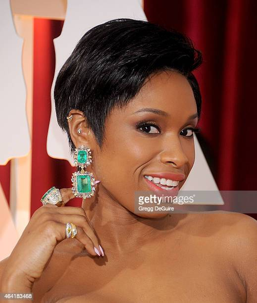 Actress/singer Jennifer Hudson arrives at the 87th Annual Academy Awards at Hollywood & Highland Center on February 22, 2015 in Hollywood, California.