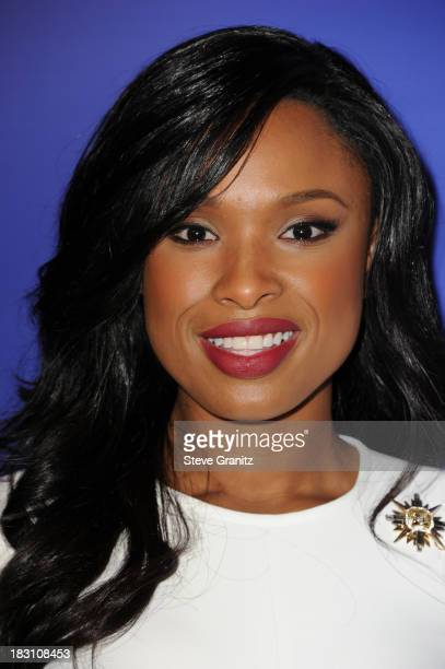 Actress-singer Jennifer Hudson arrives at Variety's 5th Annual Power of Women event presented by Lifetime at the Beverly Wilshire Four Seasons Hotel...