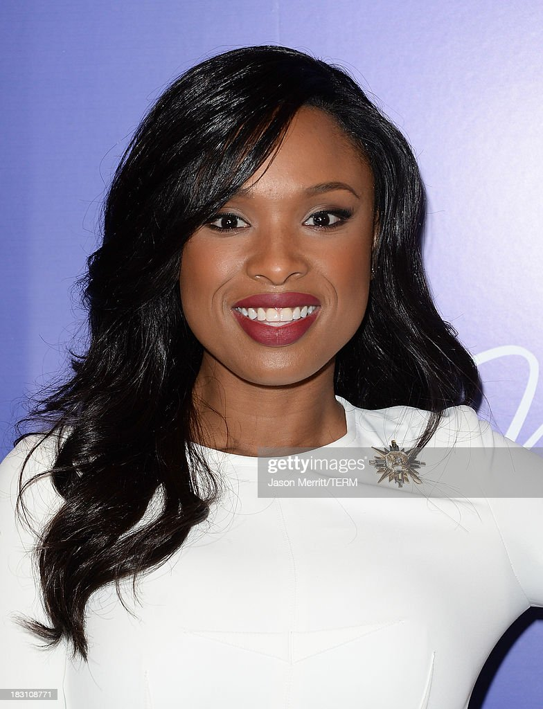 Actress-singer Jennifer Hudson arrives at Variety's 5th Annual Power of Women event presented by Lifetime at the Beverly Wilshire Four Seasons Hotel on October 4, 2013 in Beverly Hills, California.