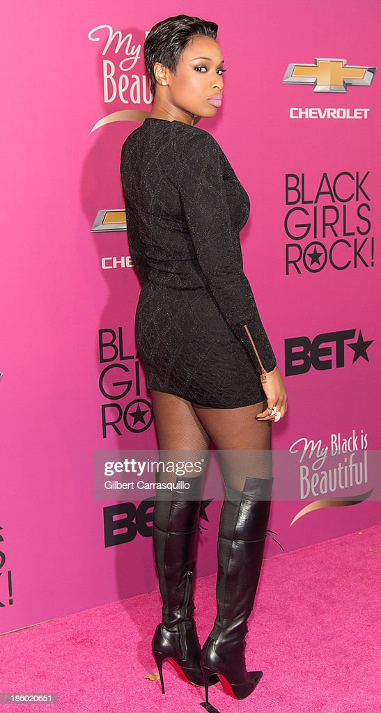Actress/singer Jennifer Hudson attends Black Girls Rock! 2013 at New Jersey Performing Arts Center on October 26, 2013 in Newark, New Jersey.