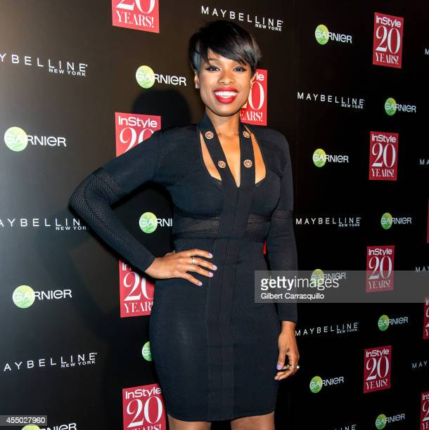 Actress/singer Jennifer Hudson attends the Instyle 20th Anniversary Party at Diamond Horseshoe at the Paramount Hotel on September 8 2014 in New York...