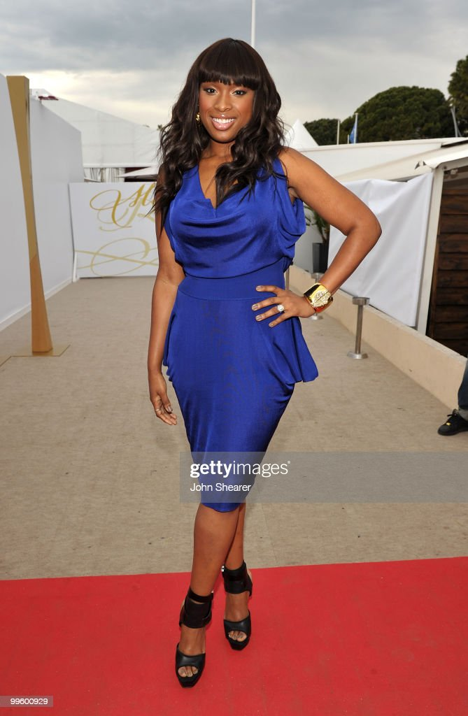 Actress/singer Jennifer Hudson attends the Winnie Cocktail Party held at the Martini Terraza during the 63rd Annual International Cannes Film Festival on May 16, 2010 in Cannes, France.