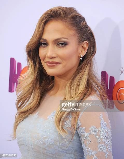 Actress/singer Jennifer Lopez arrives at the Los Angeles premiere of HOME at Regency Village Theatre on March 22 2015 in Westwood California
