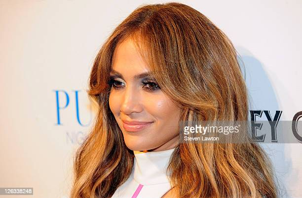 Actress/singer Jennifer Lopez arrives for an evening at the Pure Nightclub at Caesars Palace on September 24, 2011 in Las Vegas, Nevada.